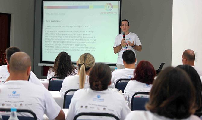 Flávio Louro na Convenção E-HTL