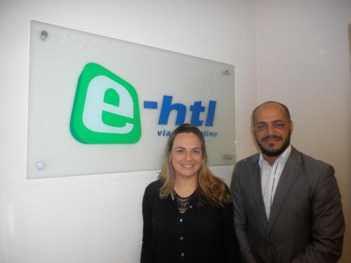 Marcela Pereira e Guilherme de Miranda, novos contratados da E-HTL