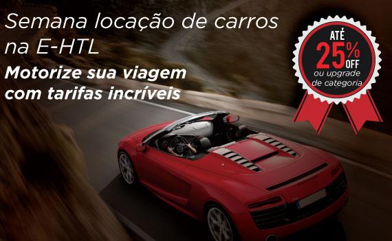 E-HTL apresenta semana promocional para locação de carros