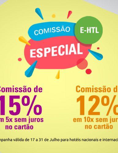 E-HTL anuncia comissão especial até fim de julho