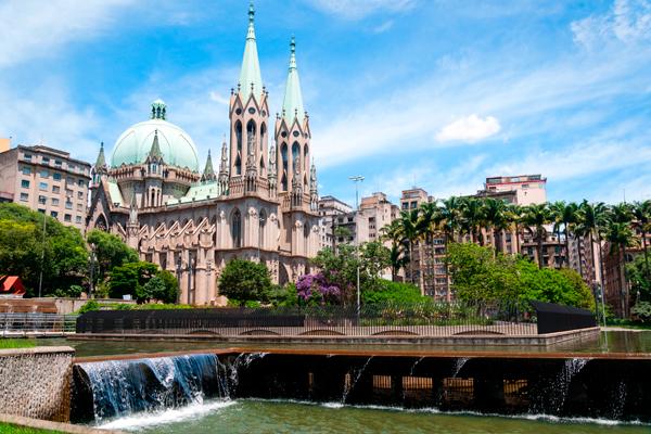 Praça e Catedral da Sé (foto: Shutterstock)
