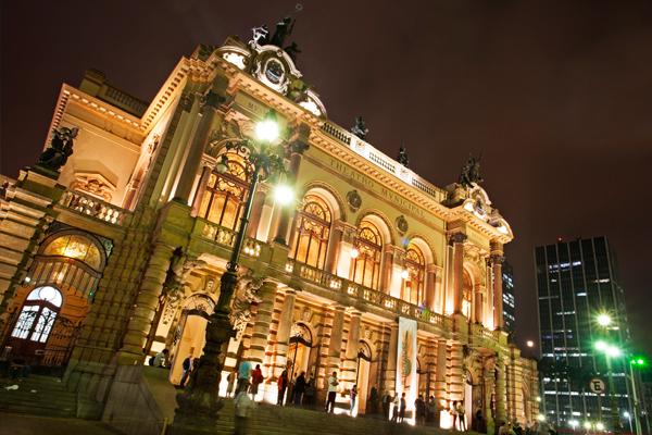 Teatro Municipal de São paulo (foto: Shutterstock)